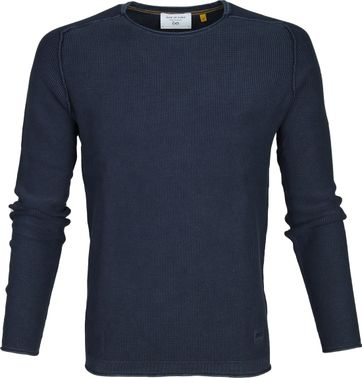 New In Town Sweater Strick Dunkelblau