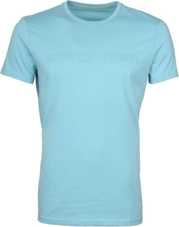 New in Town T-shirt Hellblau