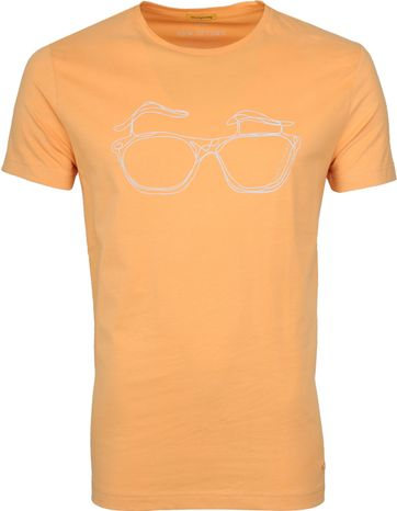 New in Town T-shirt Oranje
