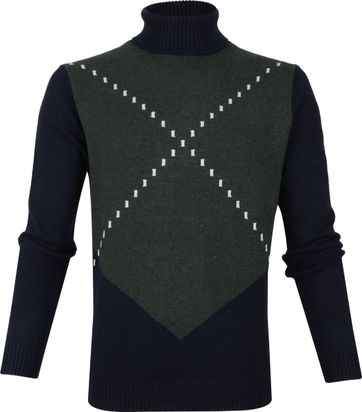 New In Town Turtleneck Night Melange