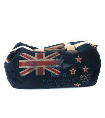 New Zealand Auckland Tasche Dunkelblau