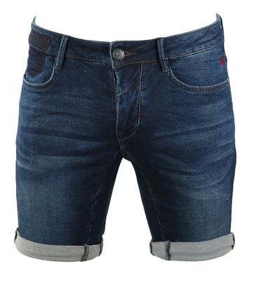 No-Excess Bermuda Short Dark Denim