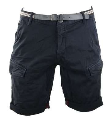 No-Excess Bermuda Short Donkerblauw