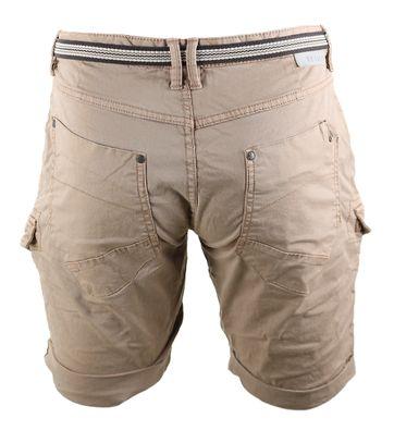 Detail No-Excess Bermuda Short Khaki