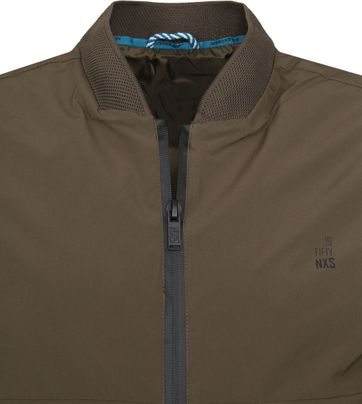 No-Excess Bomber Jacket Army Green