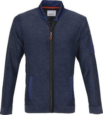 No-Excess Bomber Vest Navy