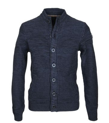 No-Excess Cardigan Navy