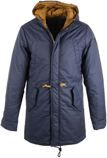 No-Excess Fishtail Parka Navy