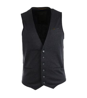 No-Excess Gilet Donkerblauw Streep