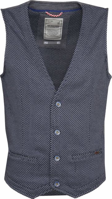 No-Excess Gilet Dyed Jacquard