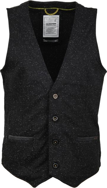No-Excess Gilet Stretch Zwart