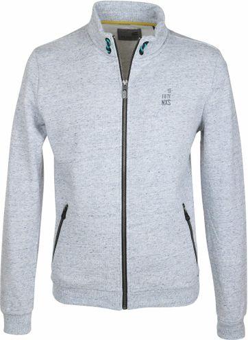 No-Excess Grau Sweat Jacke