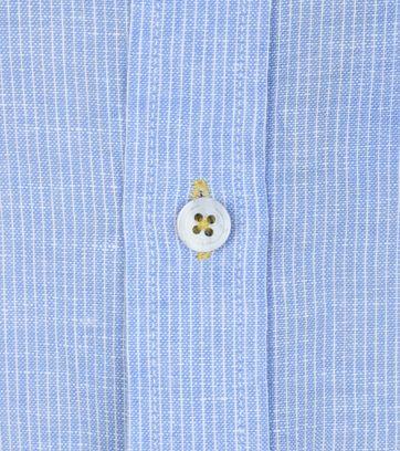Detail No-Excess Hemd Blau Streifen