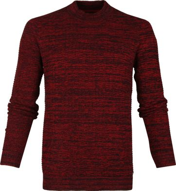 No-Excess High Neck Bordeaux