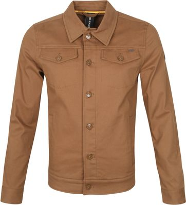 No-Excess Jacke Stretch Camel