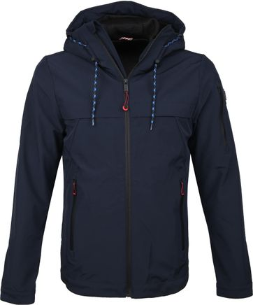 No-Excess Jacket Navy