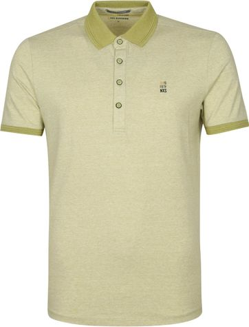 No-Excess Jacquard Polo Groen