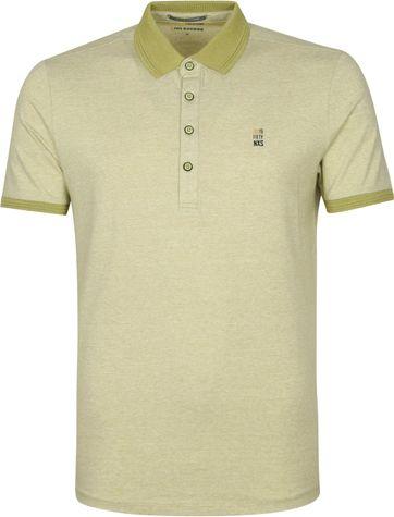 No-Excess Jacquard Poloshirt Grün