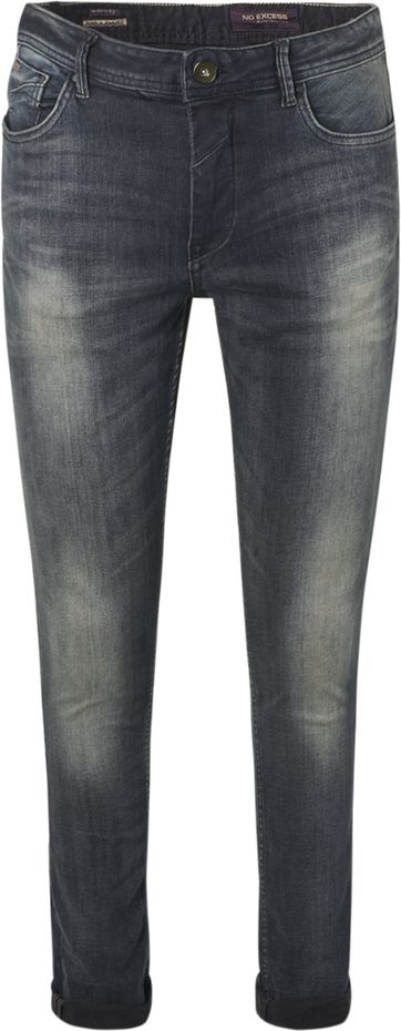No-Excess Jeans 711 Grey Denim