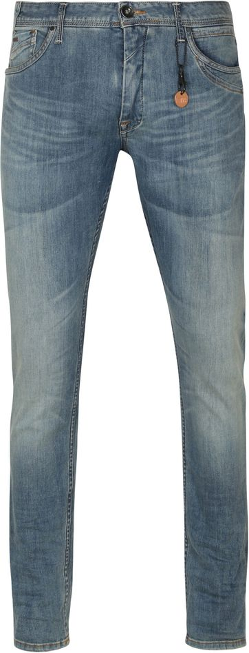 No-Excess Jeans 712 Bleach Denim