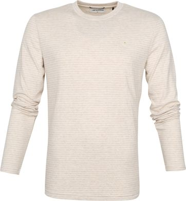 No-Excess Longsleeve T-shirt Beige