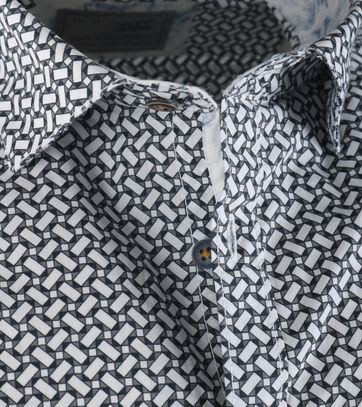 Detail No-Excess Overhemd Allover Print