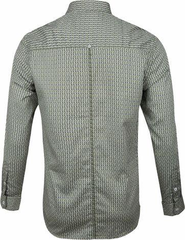 No-Excess Overhemd Dessin Groen