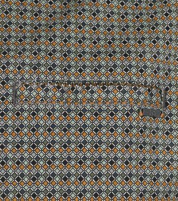 Detail No-Excess Overhemd Groen Print Allover