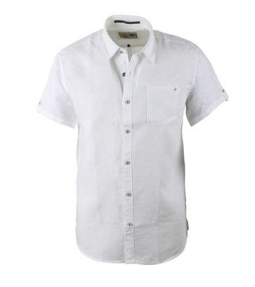 No-Excess Overhemd Korte Mouw Linnen