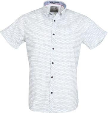 No-Excess Overhemd Korte Mouw Wit