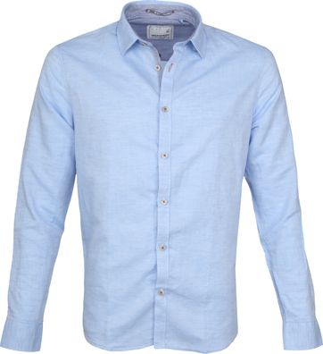 No-Excess Overhemd Lichtblauw