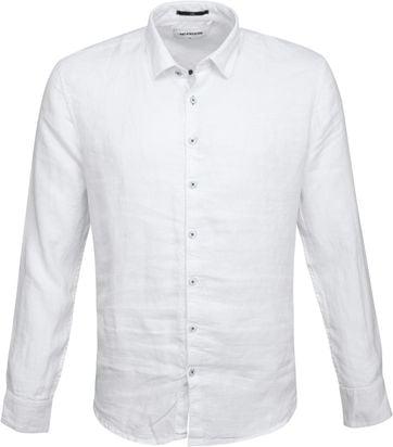 No-Excess Overhemd Linnen Wit