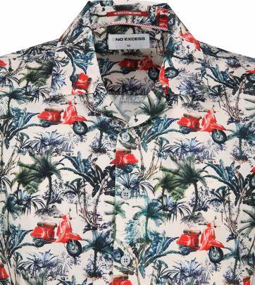 No-Excess Overhemd Print