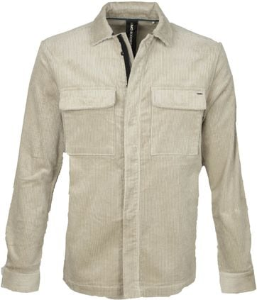 No-Excess Overshirt Corduroy Stone