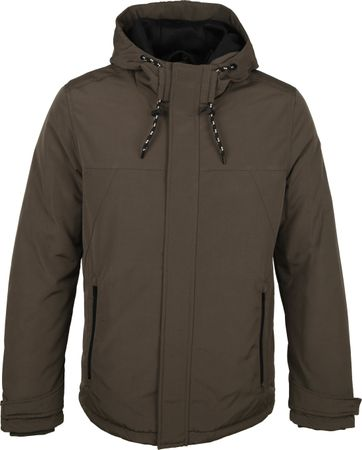 No-Excess Parka Donkergroen