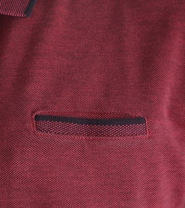 Detail No-Excess Polo Cherry