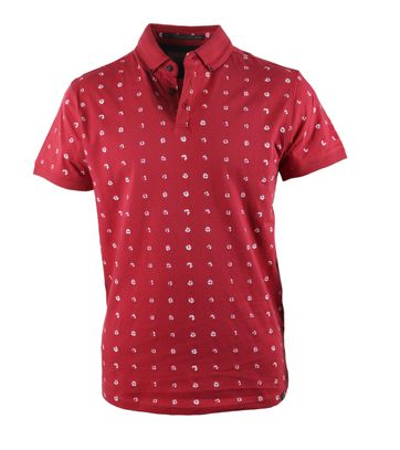 No-Excess Polo Cherry Print