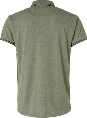 No-Excess Polo Garment Dye Olijfgroen