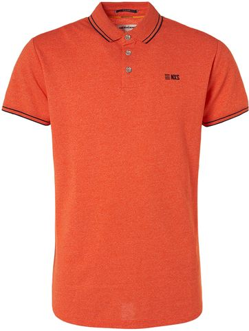 No-Excess Polo Garment Dye Oranje