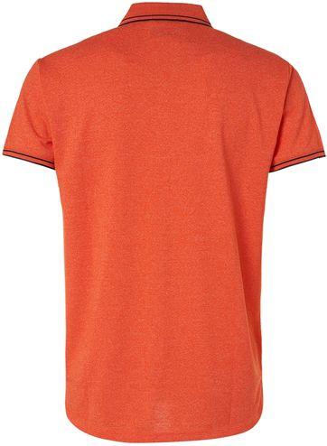No-Excess Polo Garment Dye Oranje