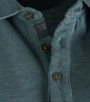 Detail No-Excess Polo Sea Green