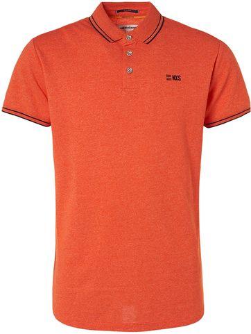 No-Excess Polo Shirt Garment Dye Orange