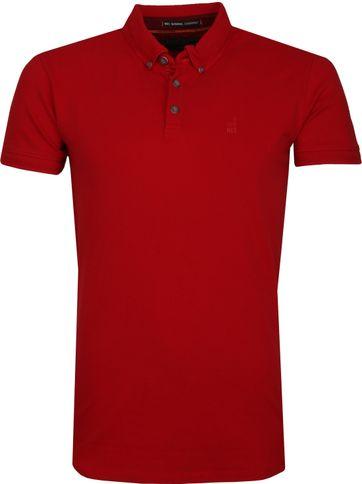 No Excess Polo Shirt Stretch Red