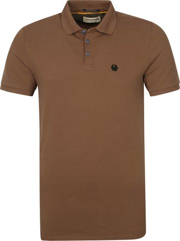 No-Excess Polo Stone Washed Camelbraun