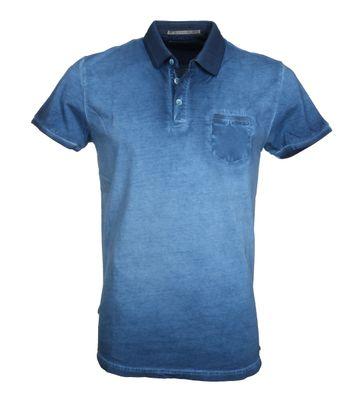 No-Excess Polo Waschen Blau