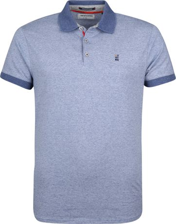 No-Excess Poloshirt Blau