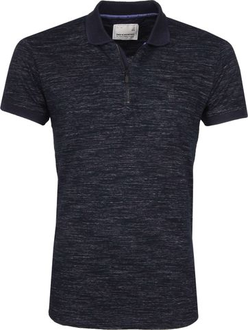 No Excess Poloshirt Grindle Jersey Navy