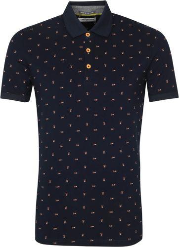 No-Excess Poloshirt Insekten Navy