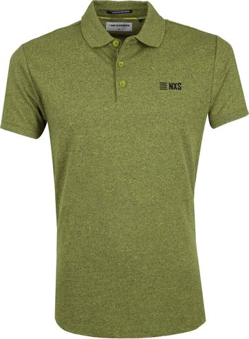 No-Excess Poloshirt Lime Grün