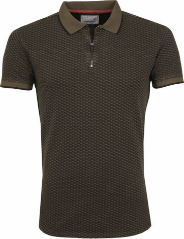 No Excess Poloshirt Printed Army